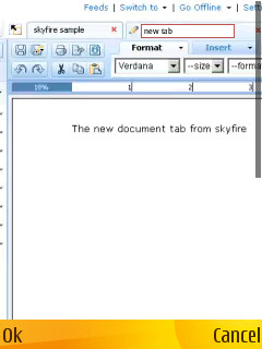 Multiple Documents - Tabbed View