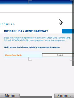 Citibank Payment Gateway