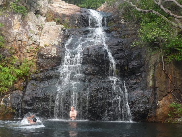 Picnic Pool Waterfall