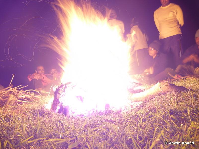 Campfire :D Roaring ain't it?