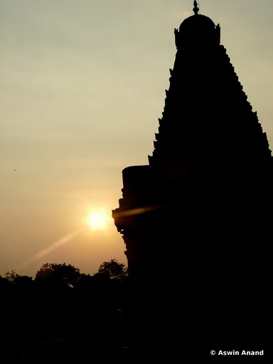 Silhouette of the Main Gopuram