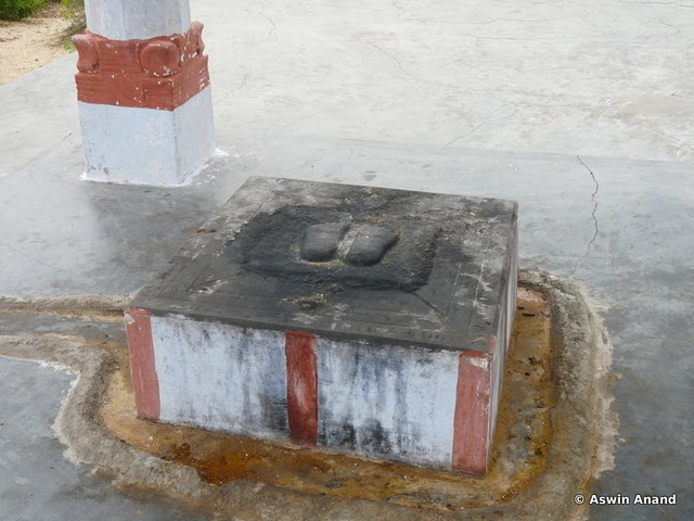 Lord Rama's Footprints