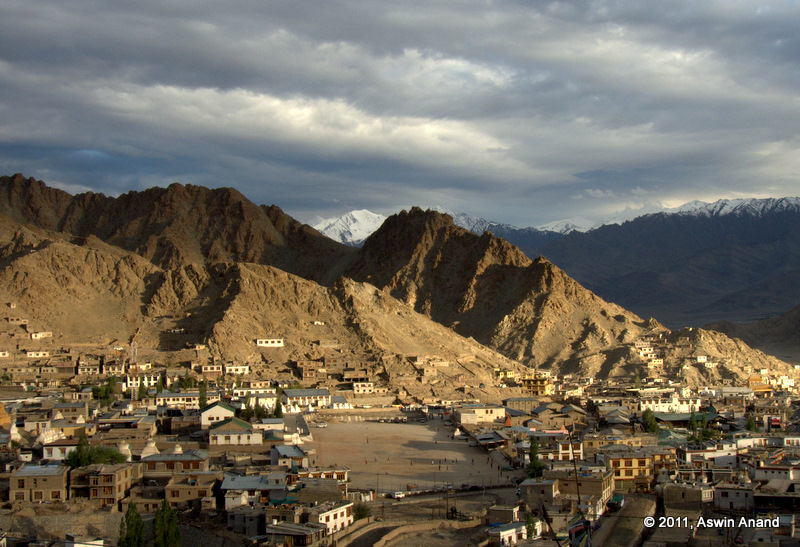 Sunset at Leh