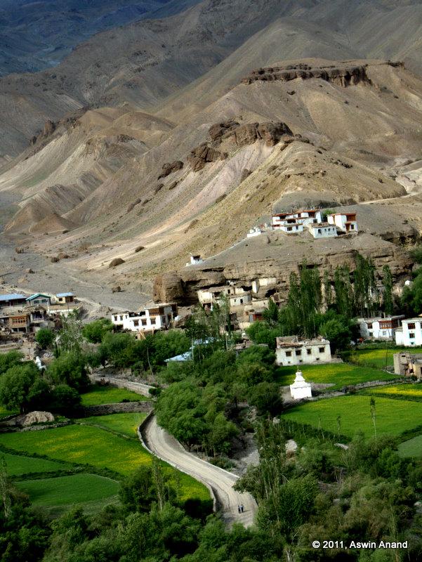 A village enroute Buddhagarpu