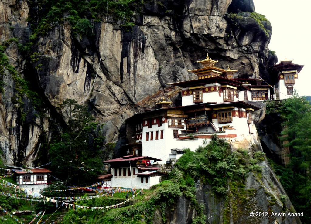 Taktsang Monastery a.k.a The Tiger's Nest
