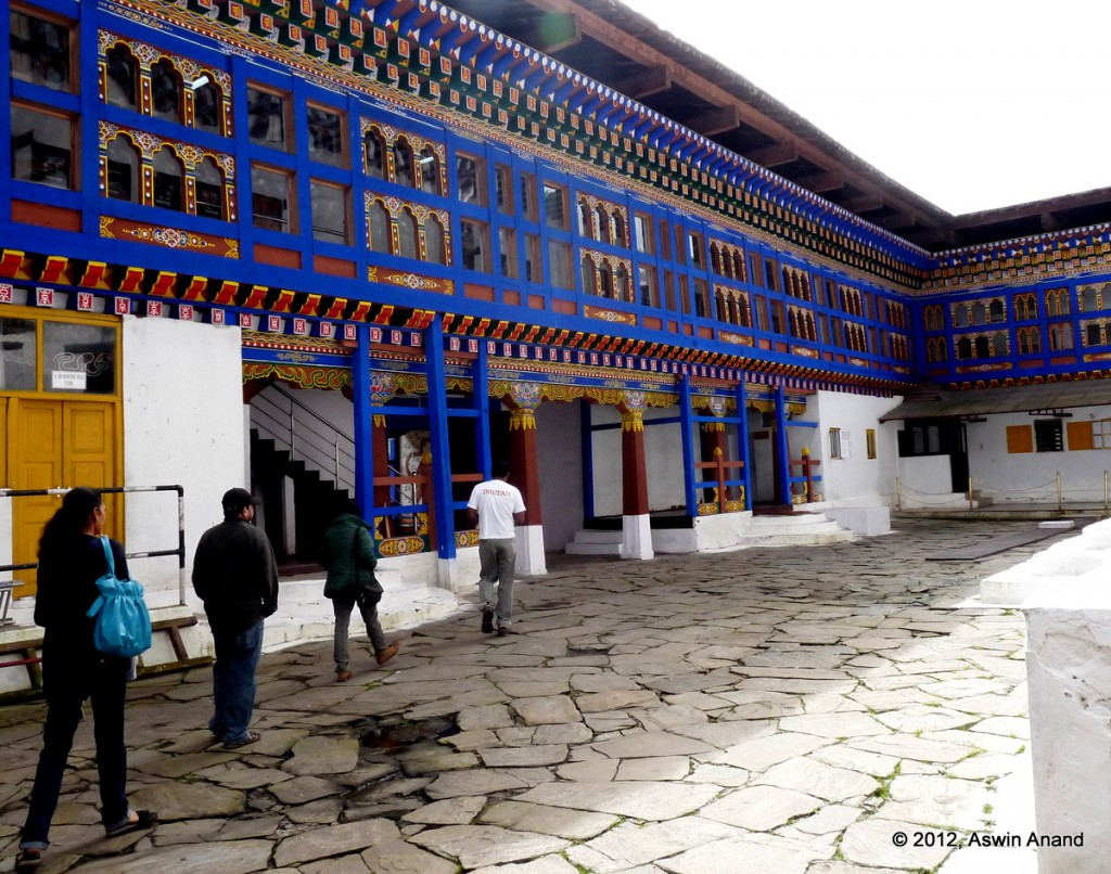 Colourful Wangchulo Dzong at Haa Valley